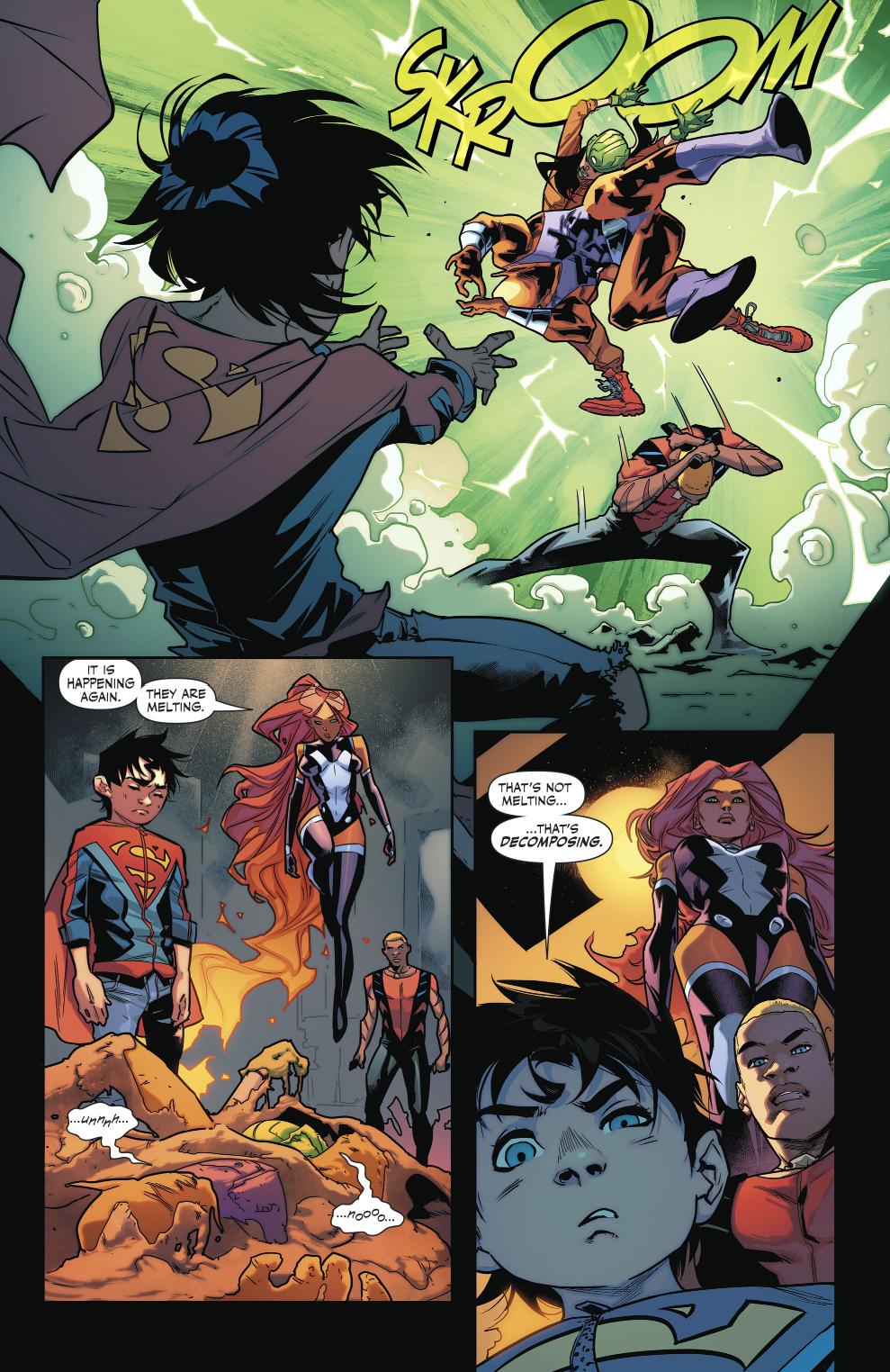 Teen Titans VS Kraklow (Rebirth)
