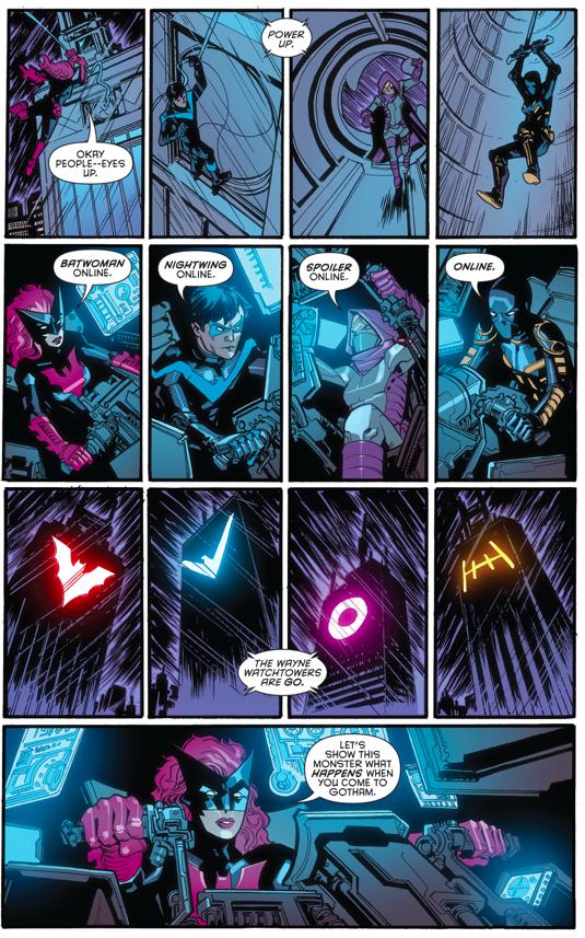 The Bat Family VS A Giant Monster (Night Of The Monster Men)
