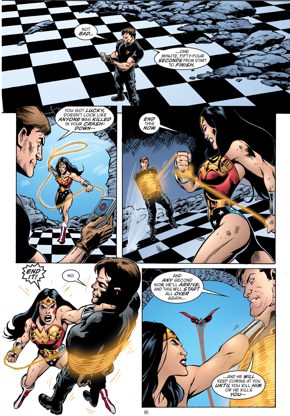 Wonder Woman Kills Maxwell Lord