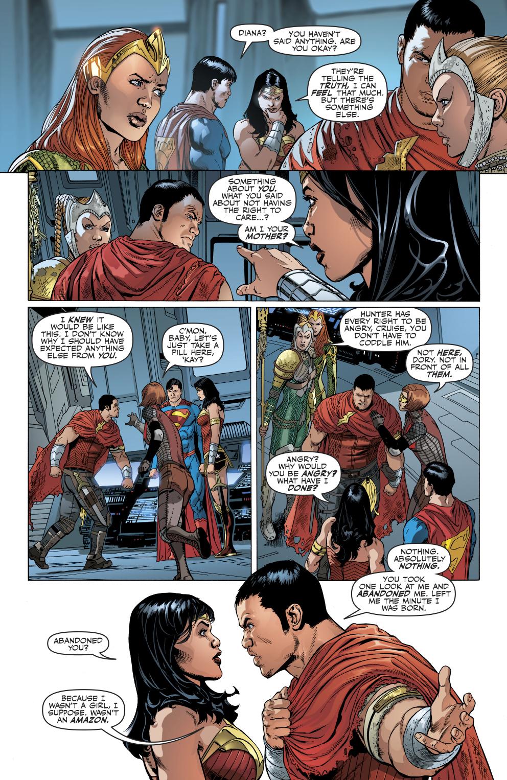 Wonder Woman's Future Son Hunter Prince