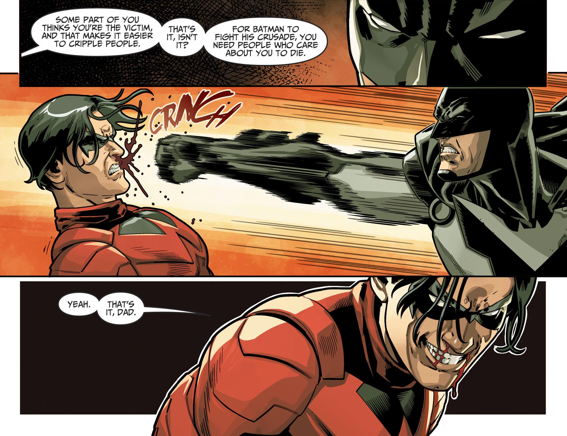 Batman VS Nightwing (Injustice II)