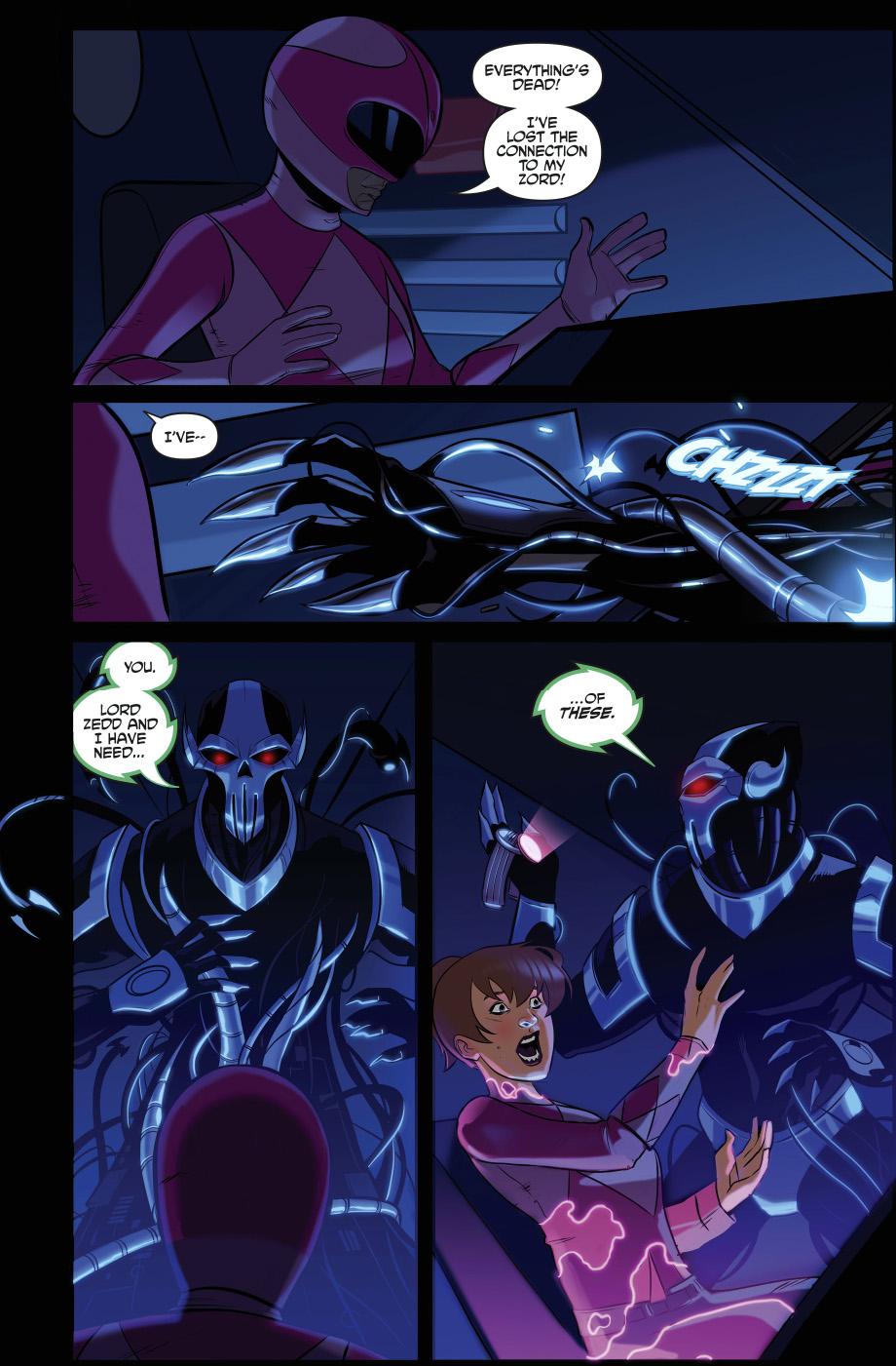 Brainiac Steals The Power Rangers Zords