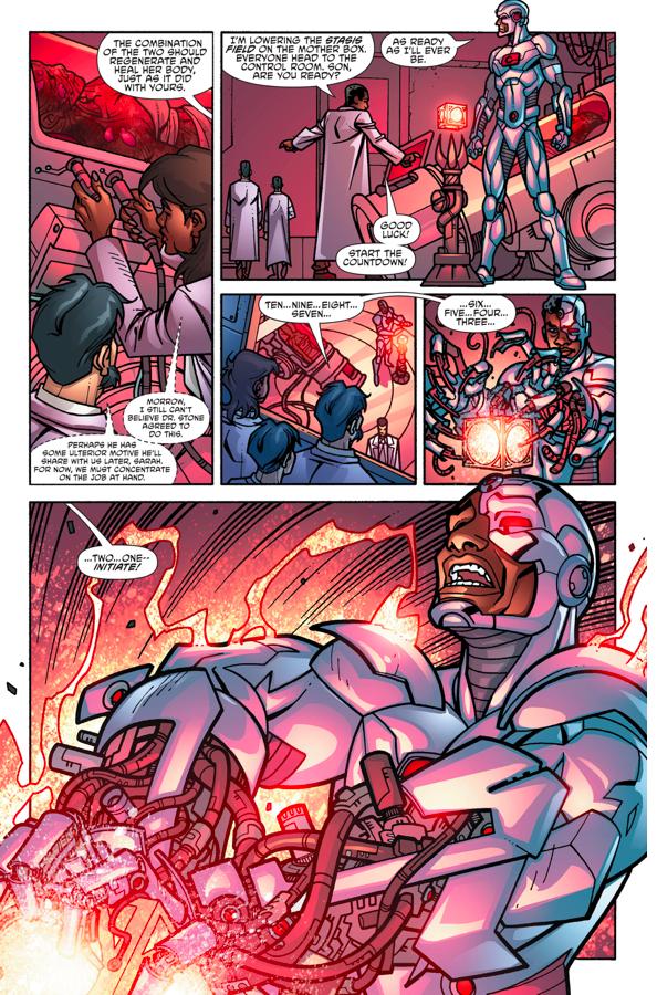 Cyborg Creates A Female Cyborg