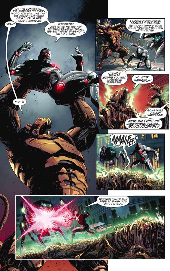 Cyborg VS Ratattack