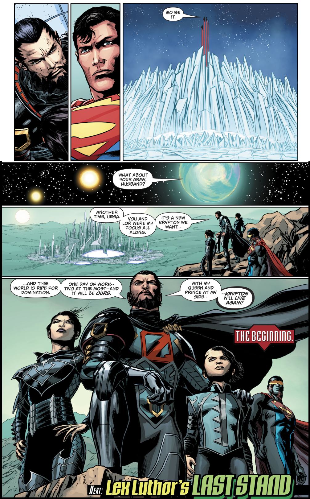 General Zod's Family Escapes The Phantom Zone
