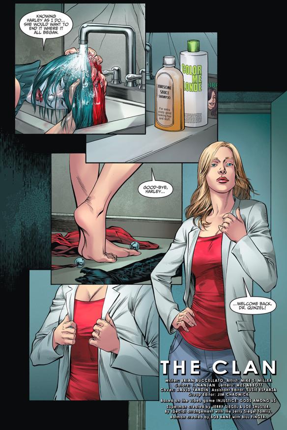 Harley Quinn As Doctor Harleen Quinzel