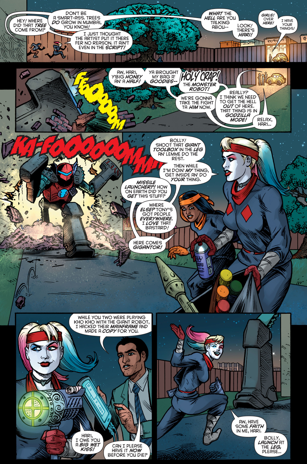 Harley Quinn Takes Down An Indian Call Center Scam