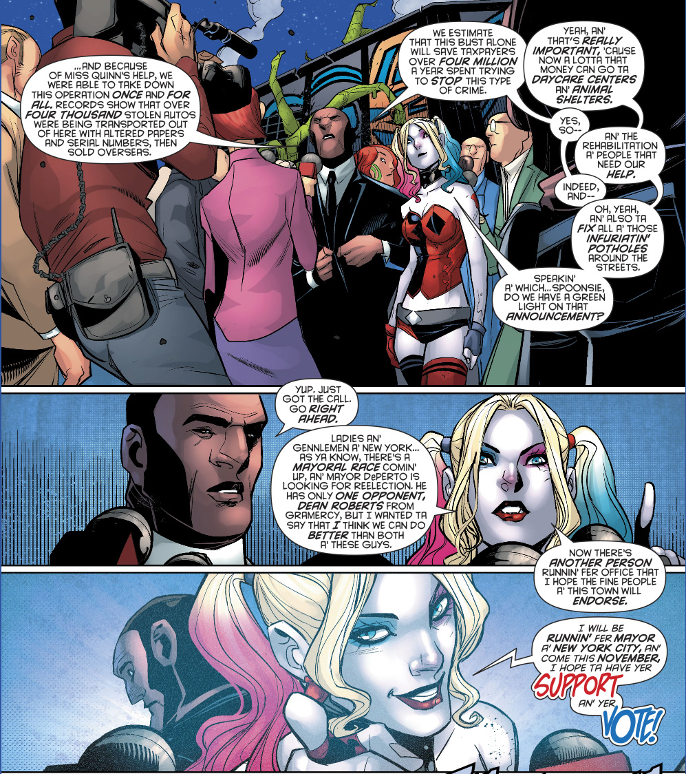 Harley Quinn To Run As Mayor Of New York