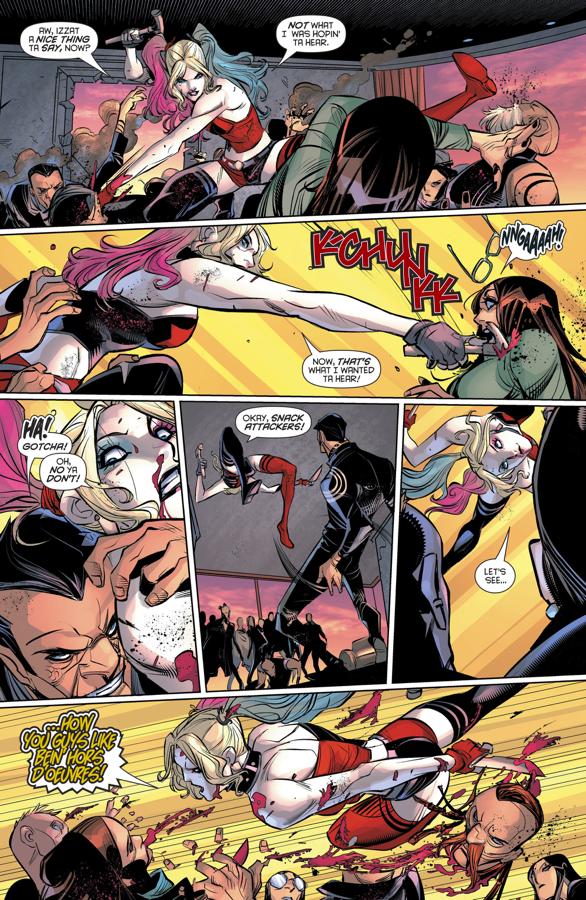 Harley Quinn VS Buchario Carrasco