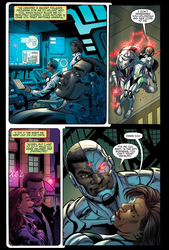 How Cyborg Defeated Variant