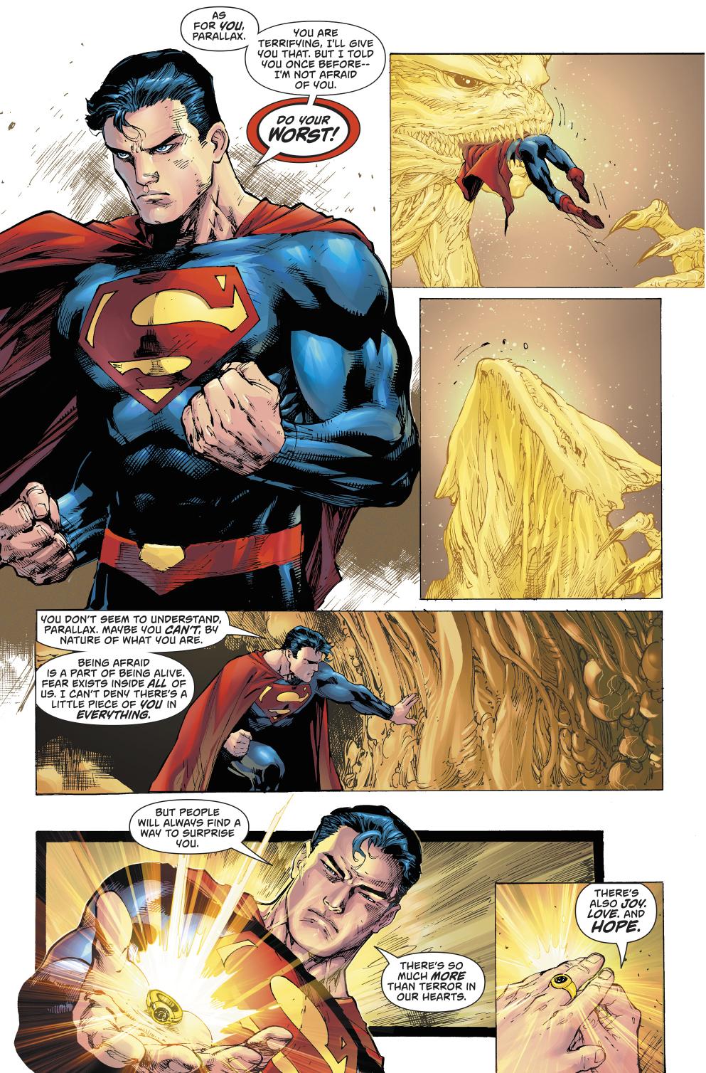 How Superman Captured Parallax