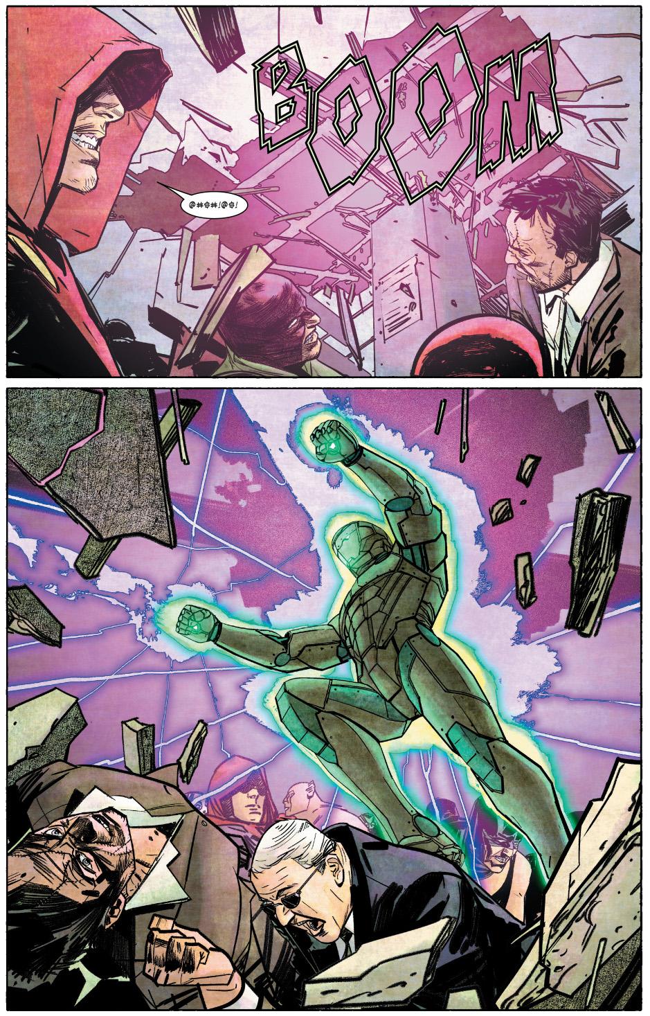 Infamous Iron Man Arrests 42 Costumed Criminals