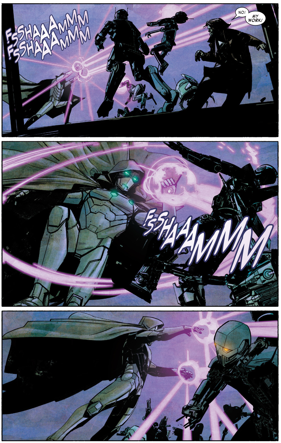 Infamous Iron Man VS The Mad Thinker