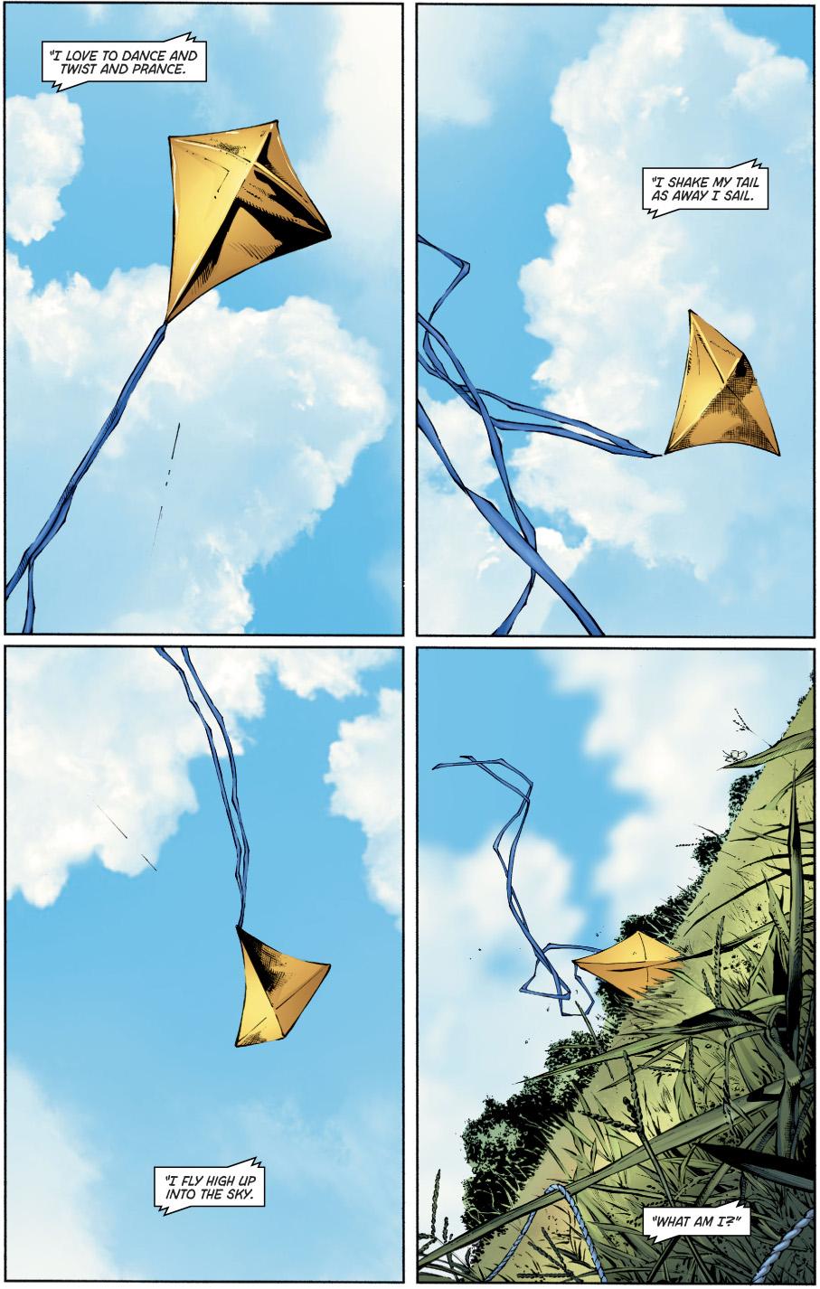 Kite-Man's Origin Story