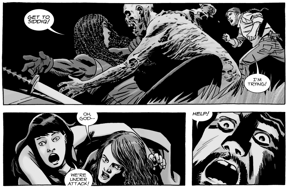 Magna And Yumiko Are In A Relationship (The Walking Dead)