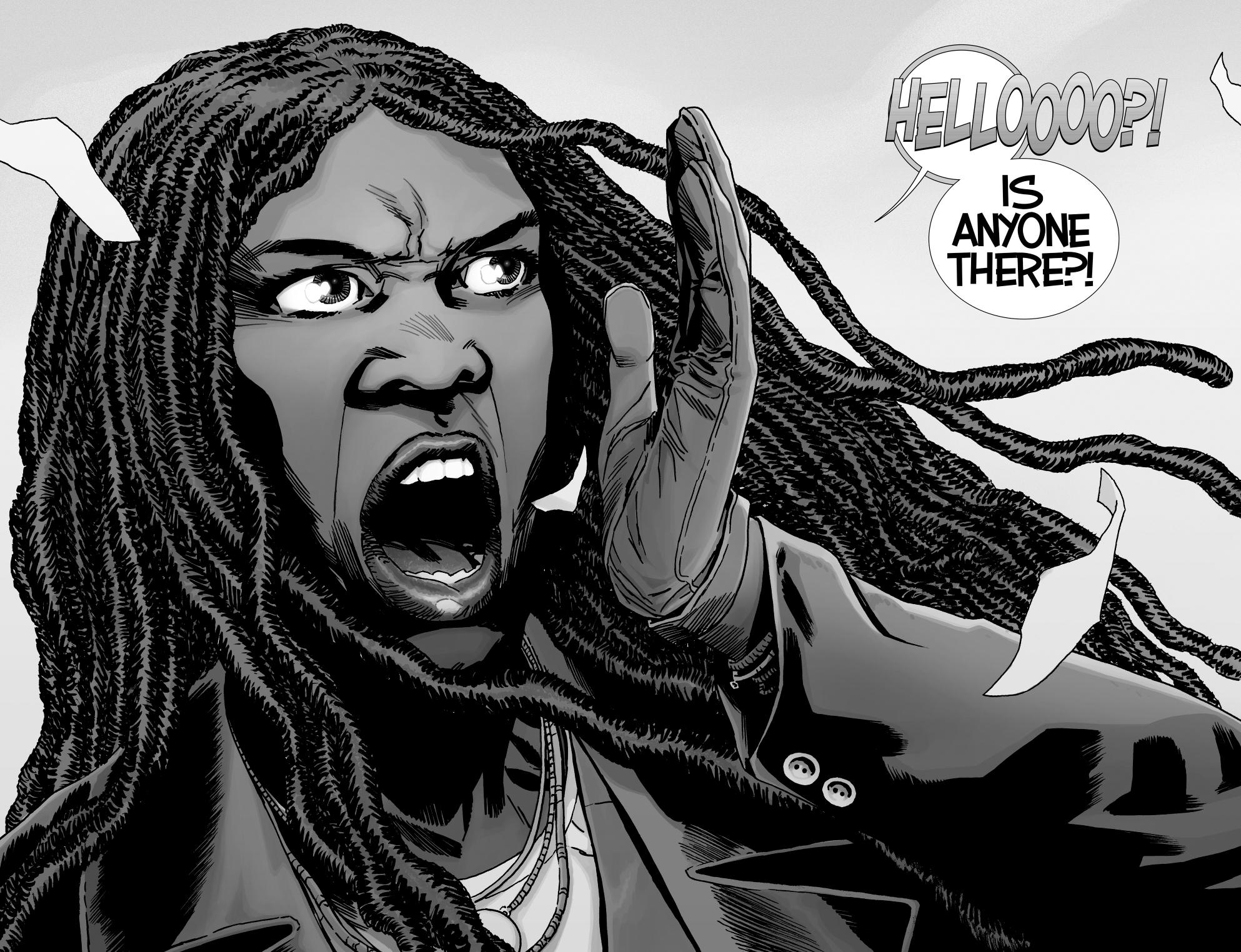 Michonne (The Walking Dead #171)