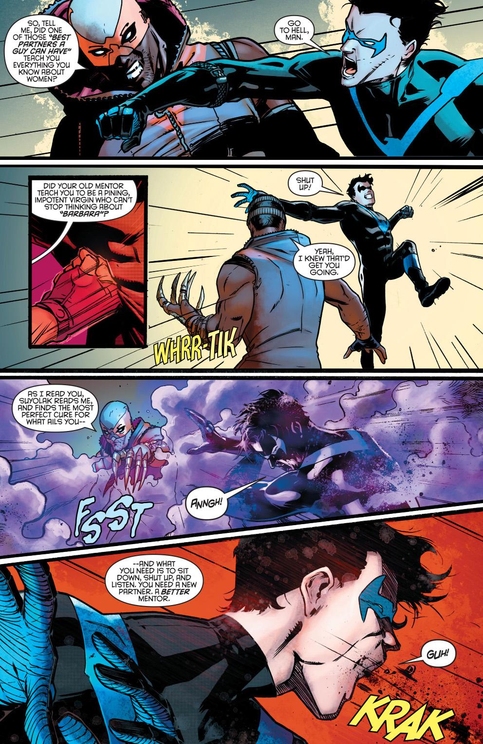Nightwing Meets Raptor