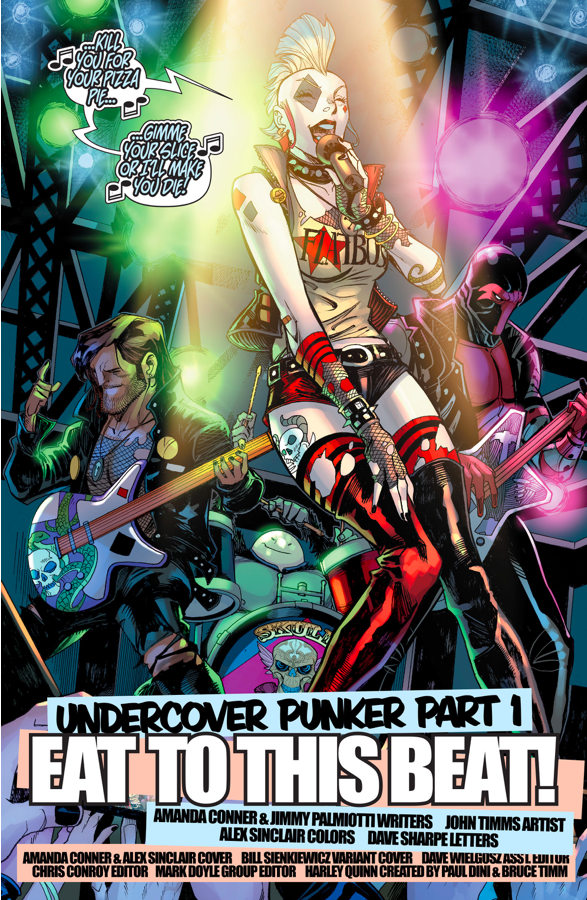 Punk Rock Harley Quinn