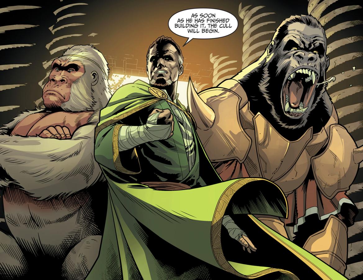 Ra's Al Ghul, Solovar And Gorilla Grodd (Injustice II)
