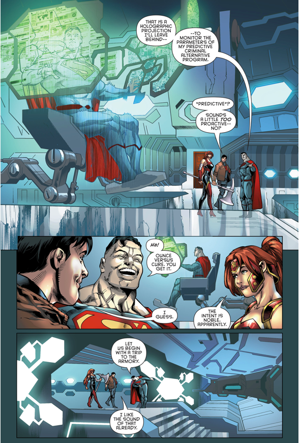 Red Hood And The Outlaws New Headquarters