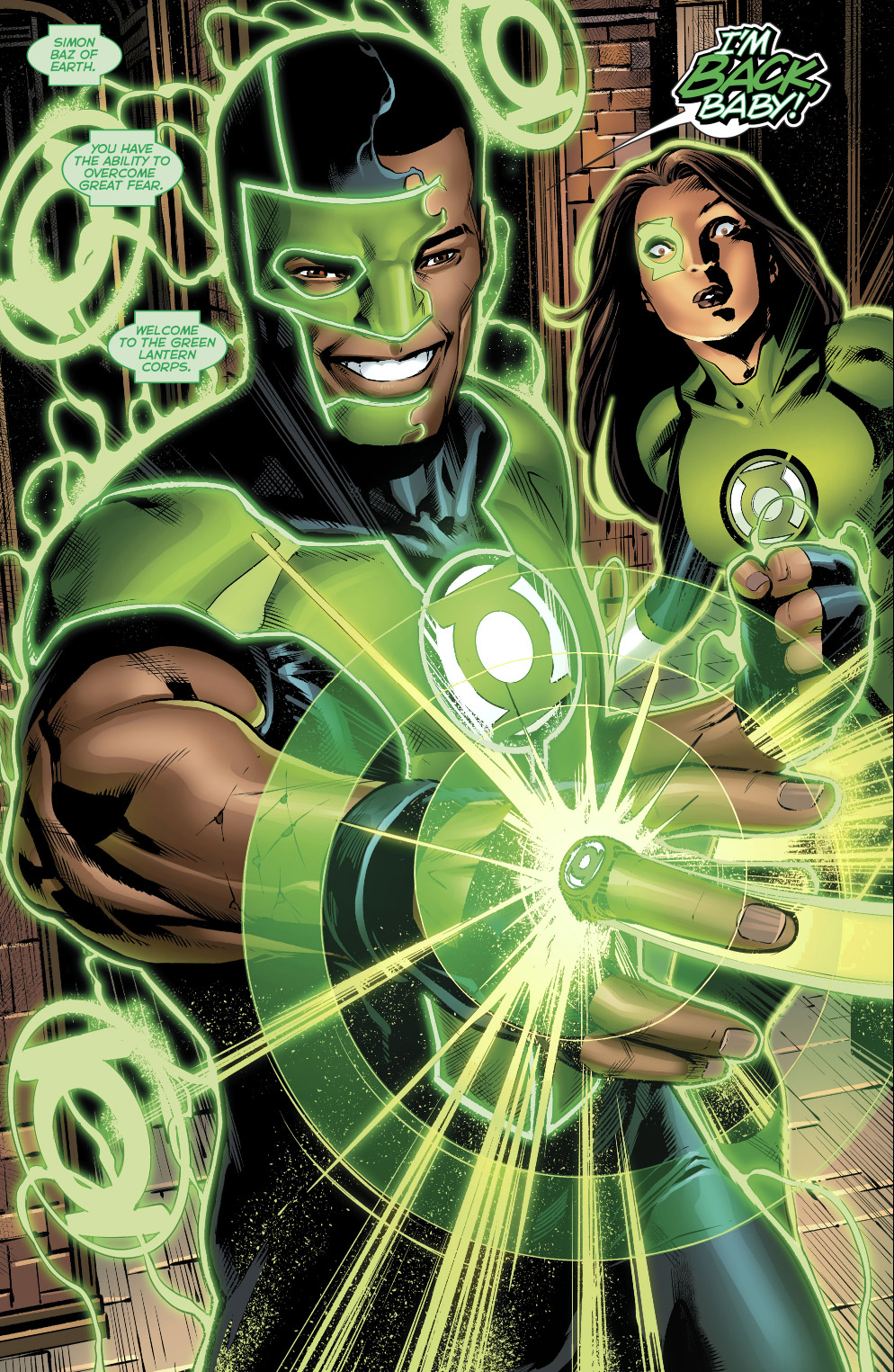 Simon Baz Earns An Original 7 Green Lantern Ring