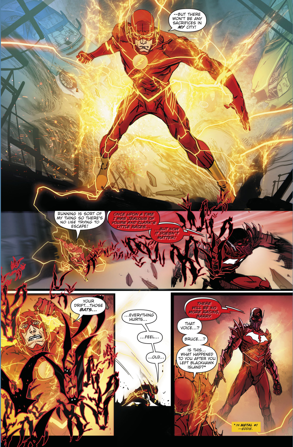The Flash Meets The Red Death