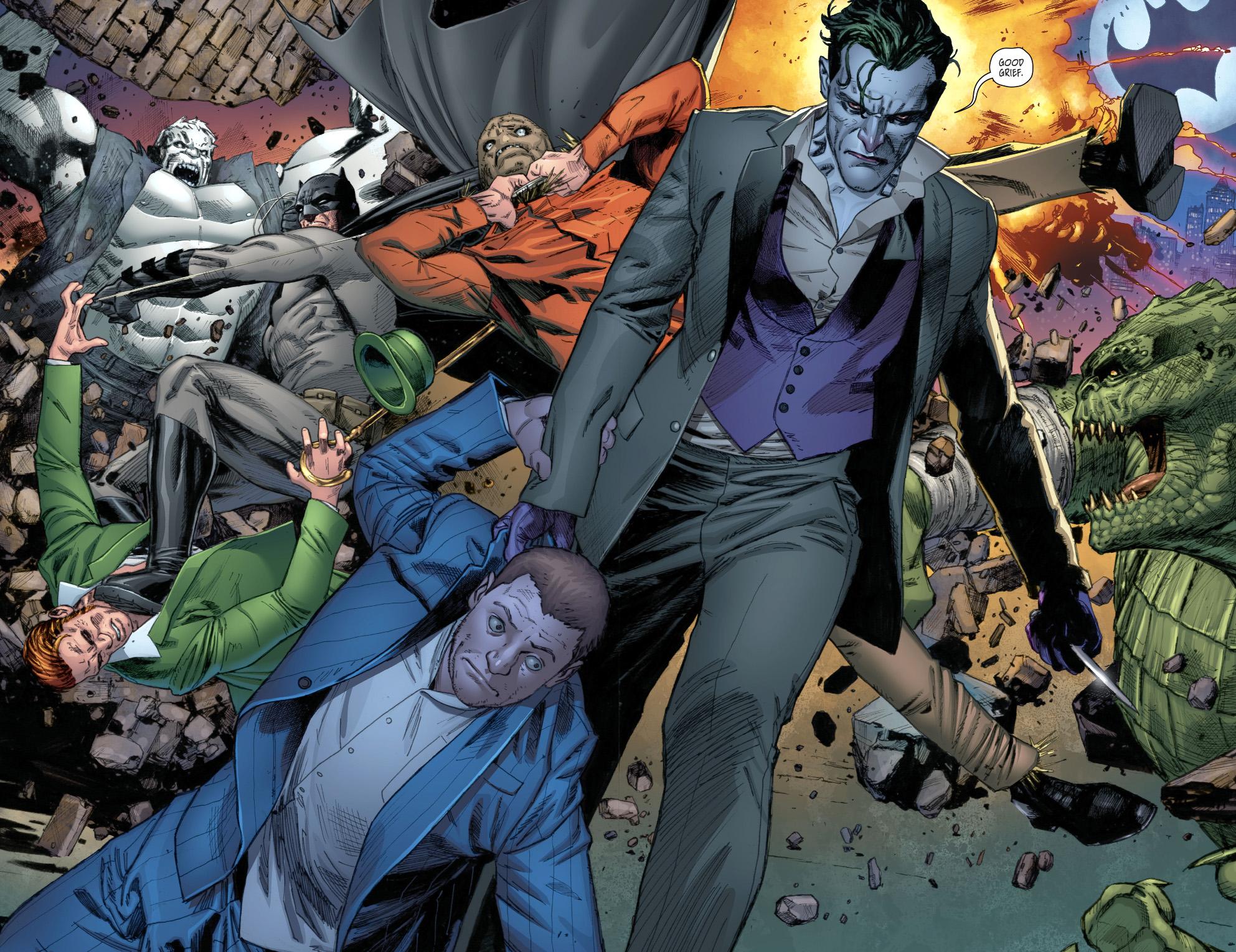 The Joker And Kite-Man