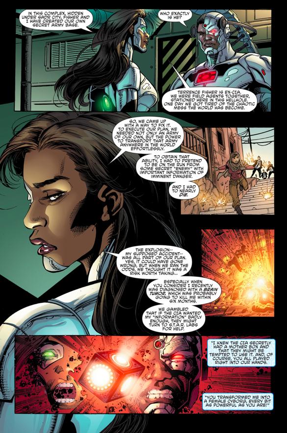 Why Variant Betrayed Cyborg (Rebirth)