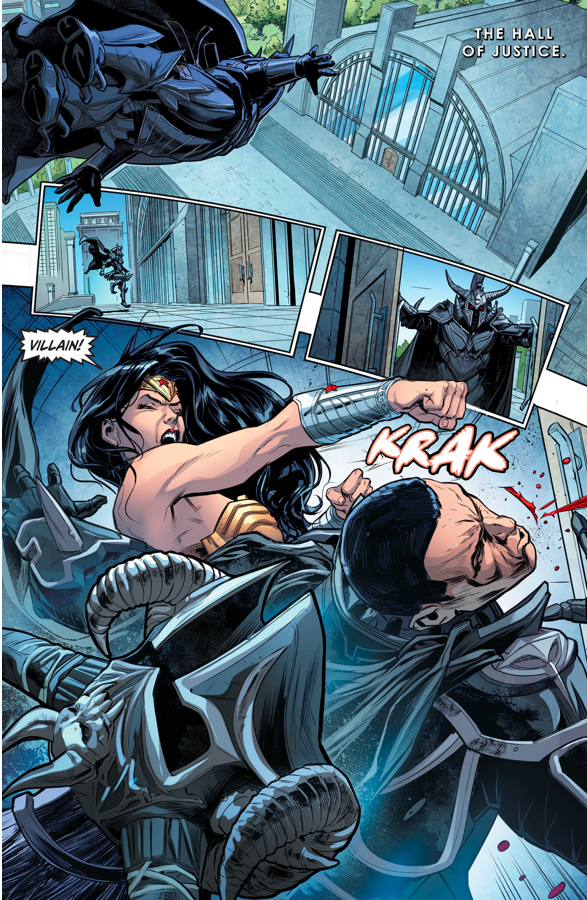 Wonder Woman VS Ares (Injustice Gods Among Us)