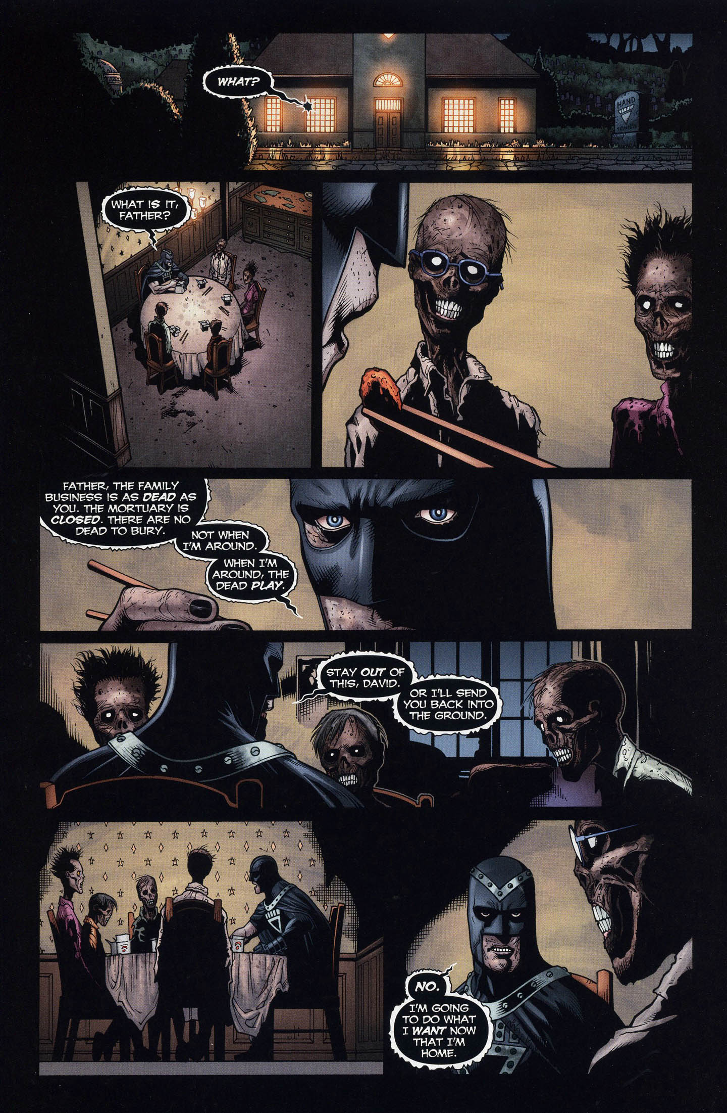 Black Hand And His Dead Family