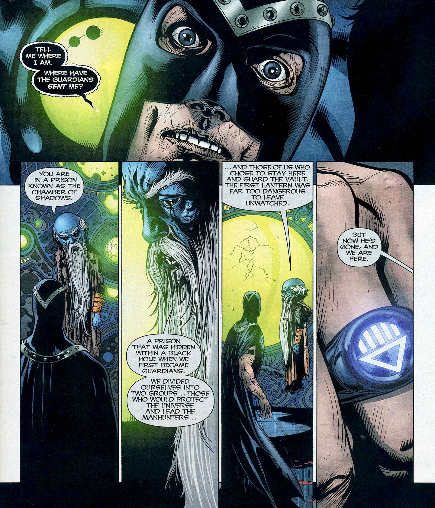 Black Hand Resurrects A Guardian Of The Universe