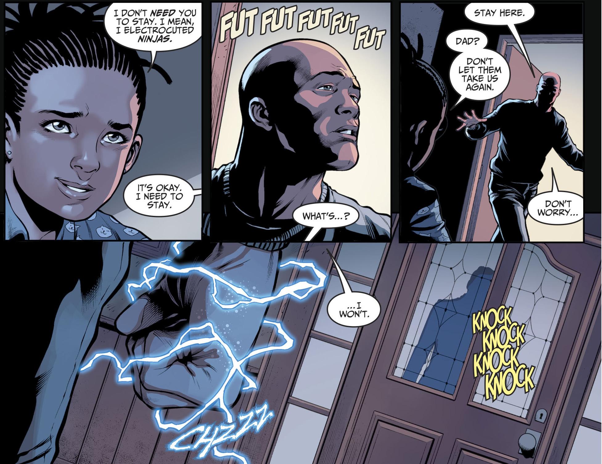 Black Lightning Becomes The President (Injustice II)