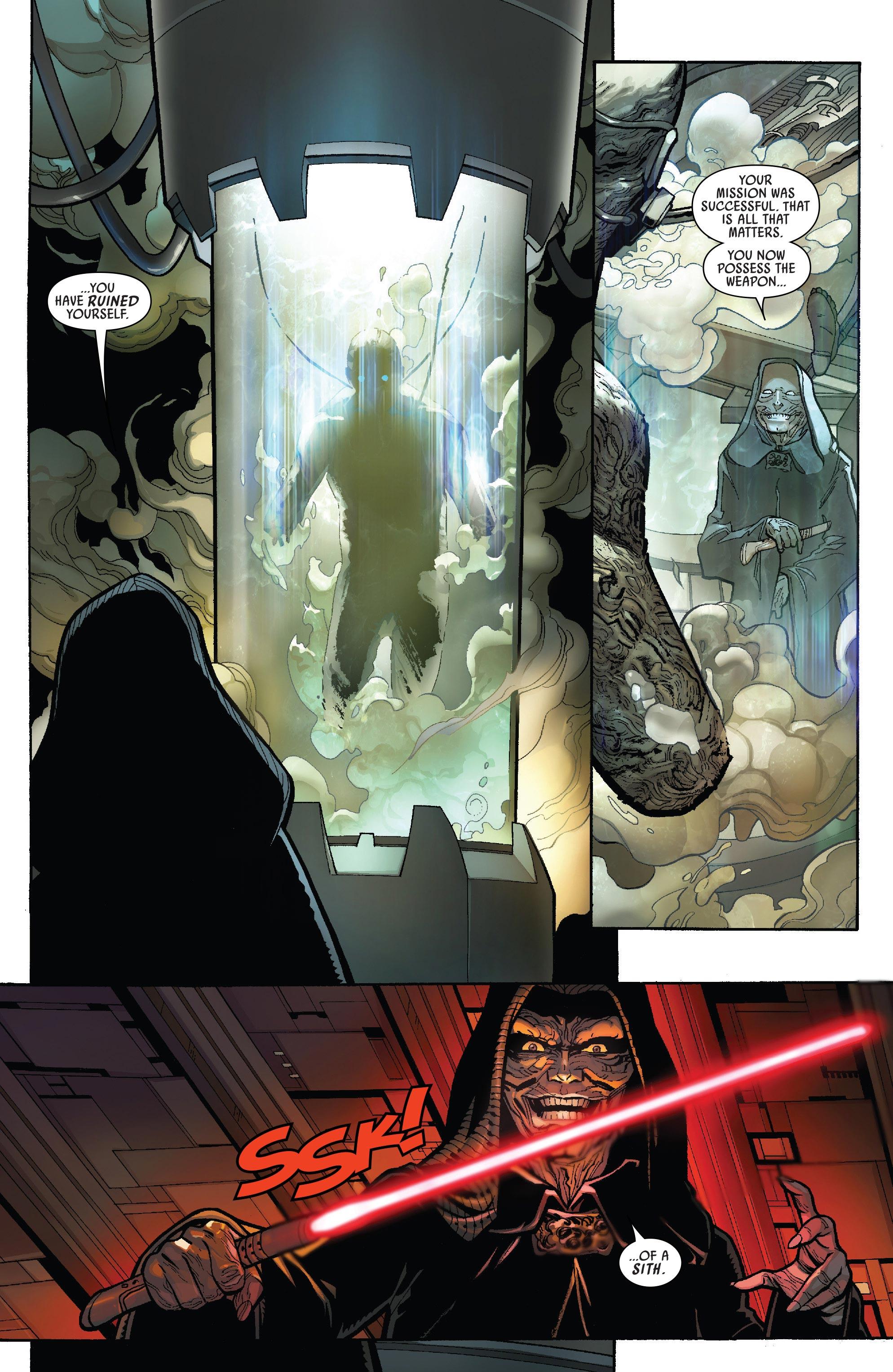 Darth Vader Repairs His Own Body Armor