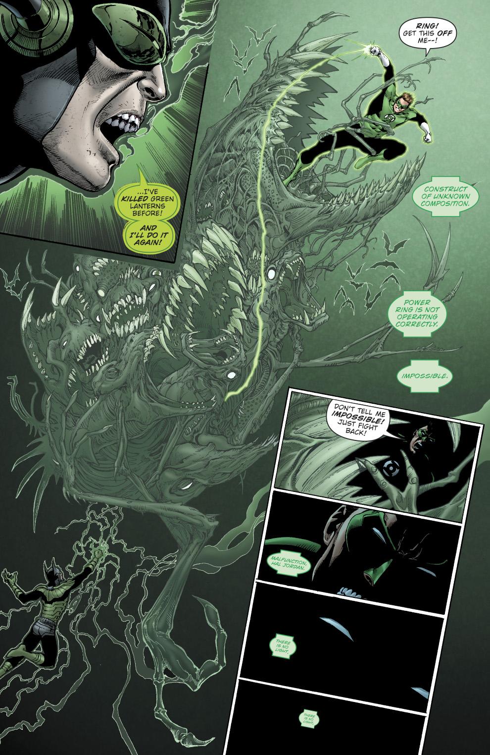 Hal Jordan Meets The Dawnbreaker