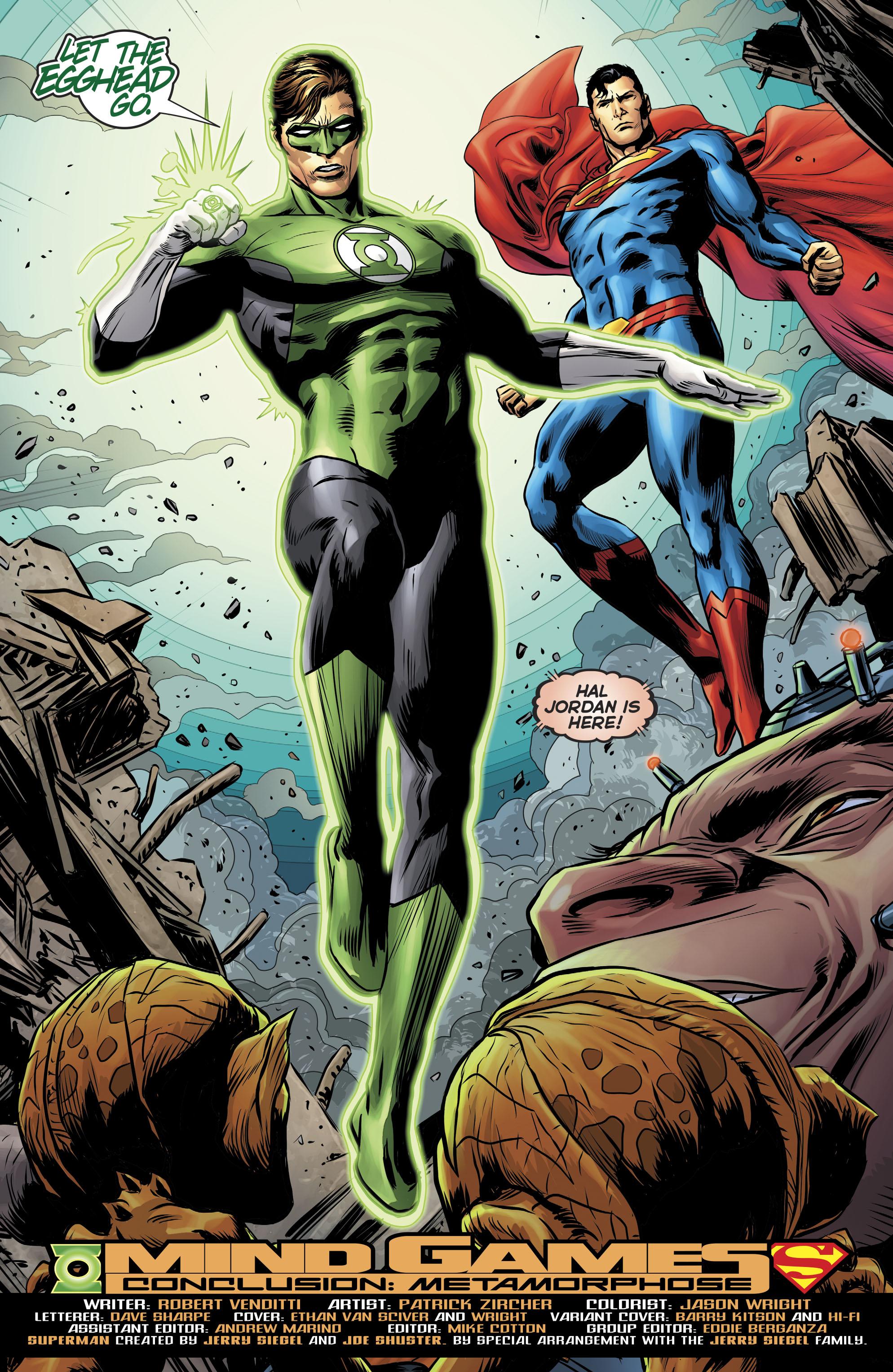 Hal Jordan & Superman (Rebirth)