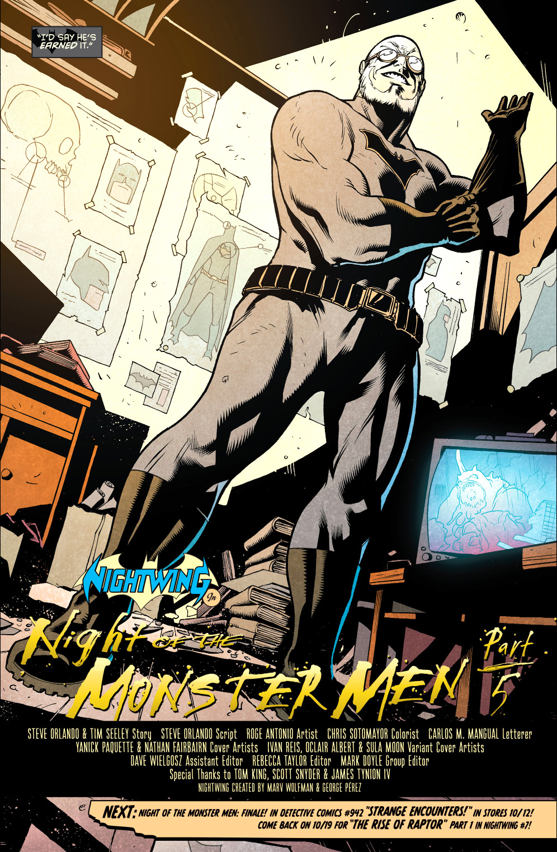 Hugo Strange (Nightwing Vol 4 #6)
