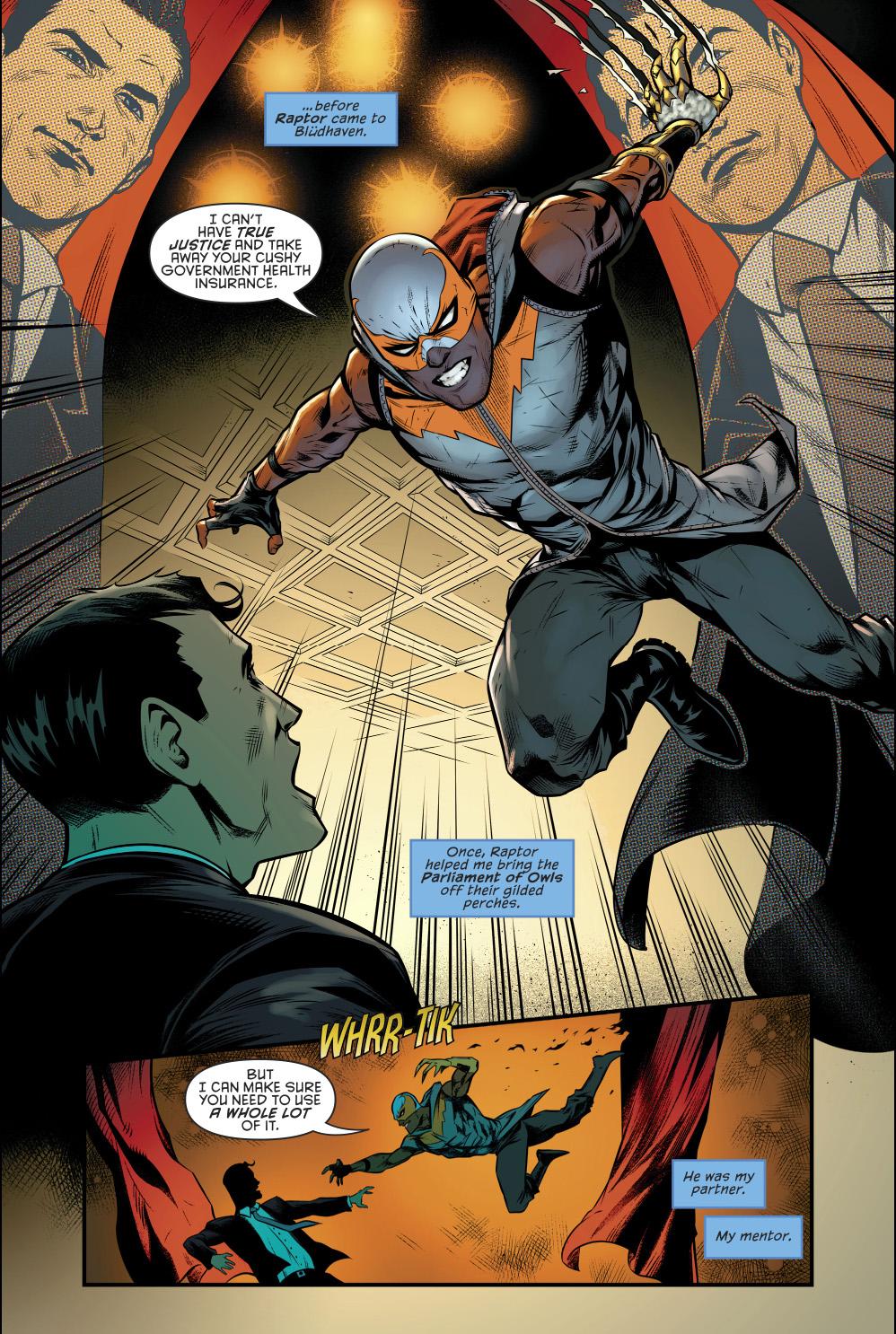 Raptor (Nightwing Volume 4 #30)