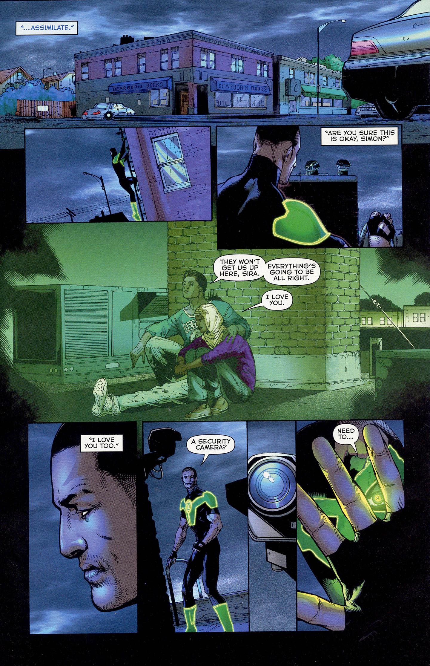 Simon Baz (Green Lantern Vol 5 #13)