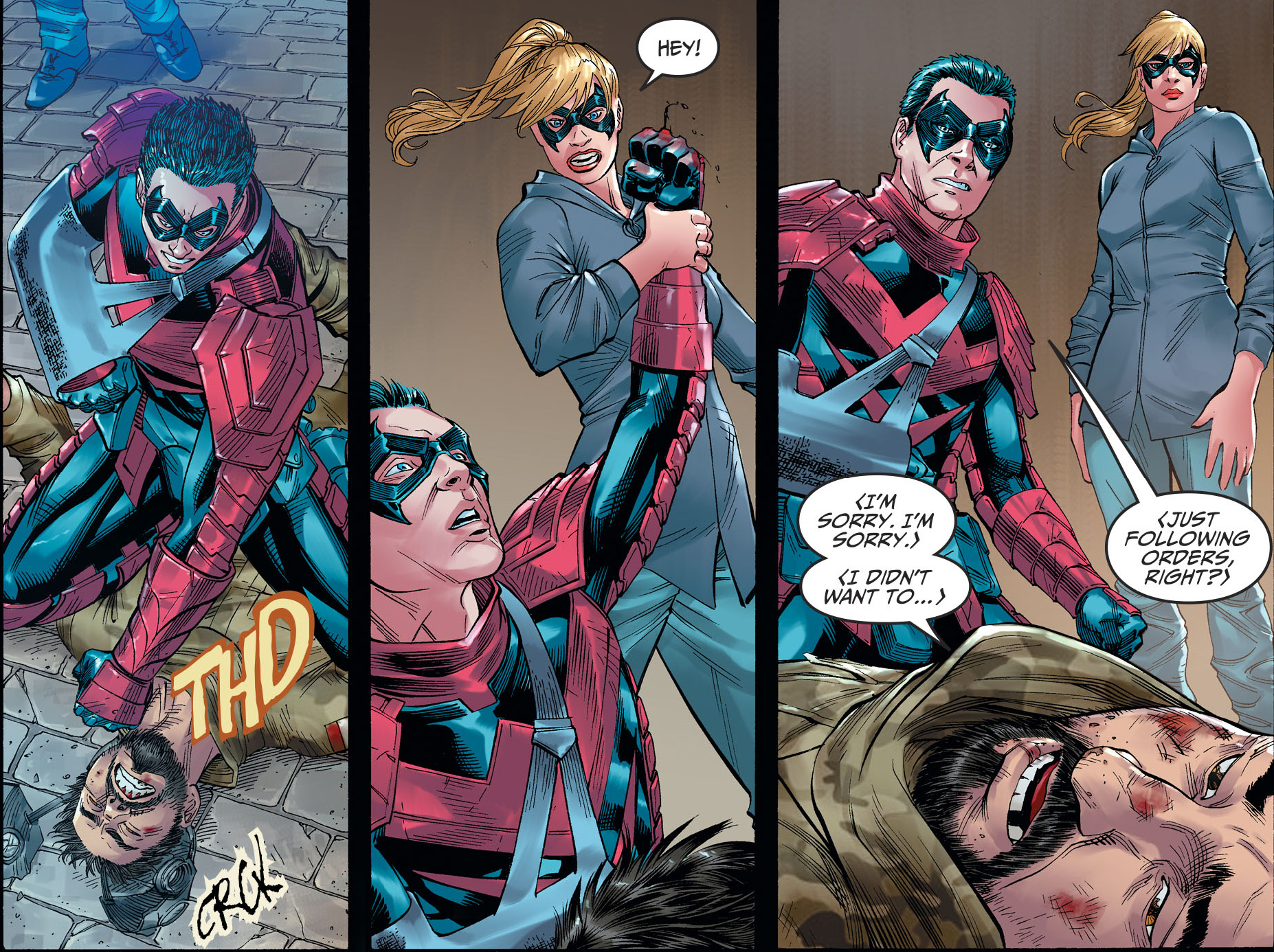 Supergirl And Nightwing Team Up (Injustice II)