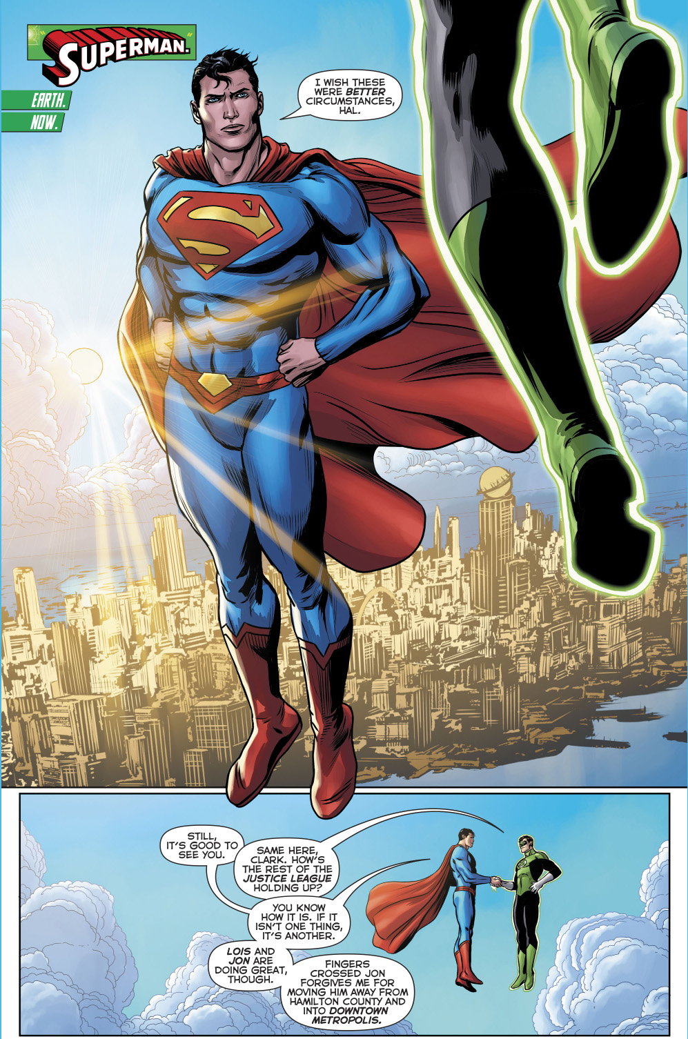 Superman (Hal Jordan And The Green Lantern Corps #30)
