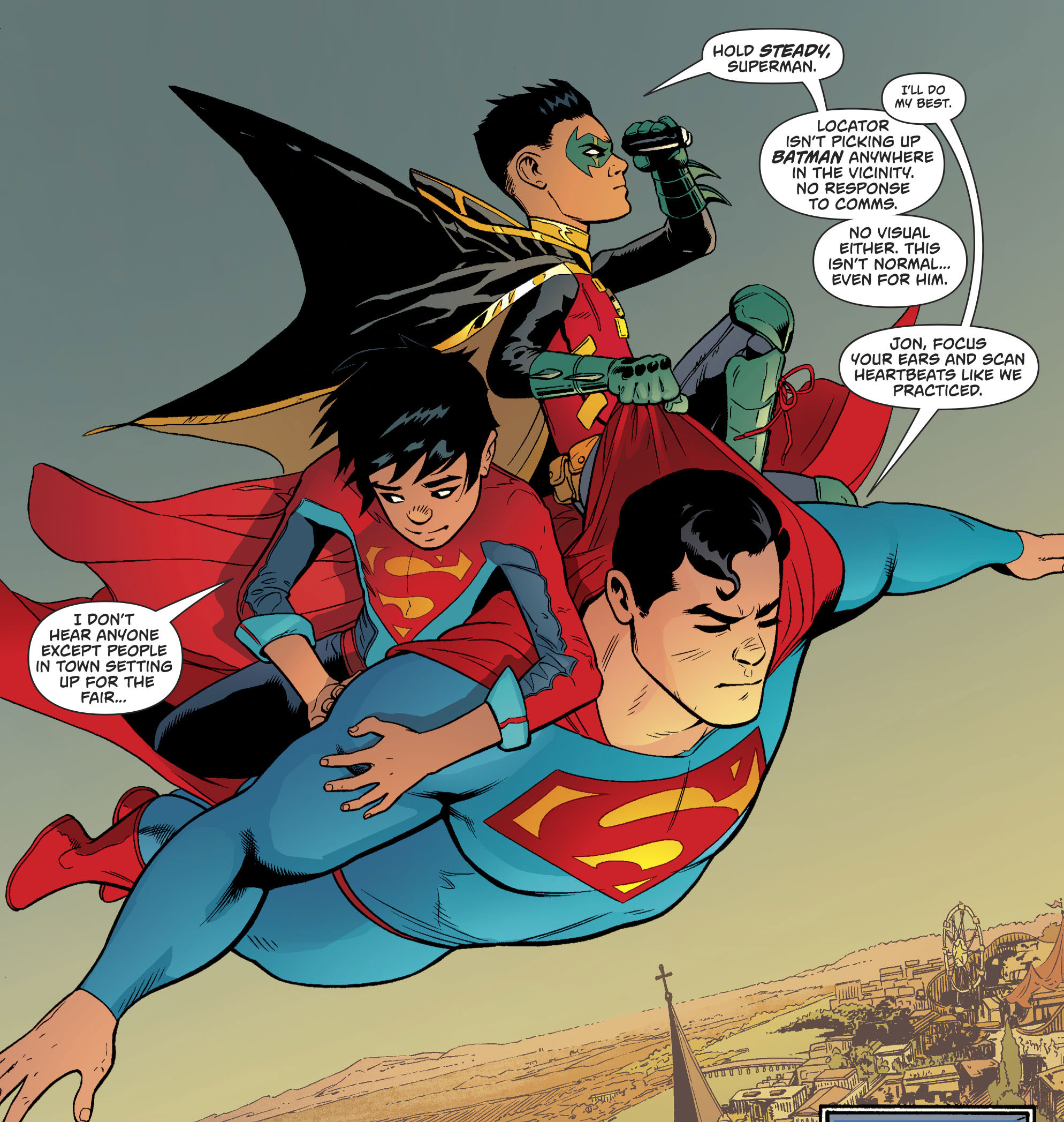 Superman, Superboy And Robin (Superman Vol 4 #21)