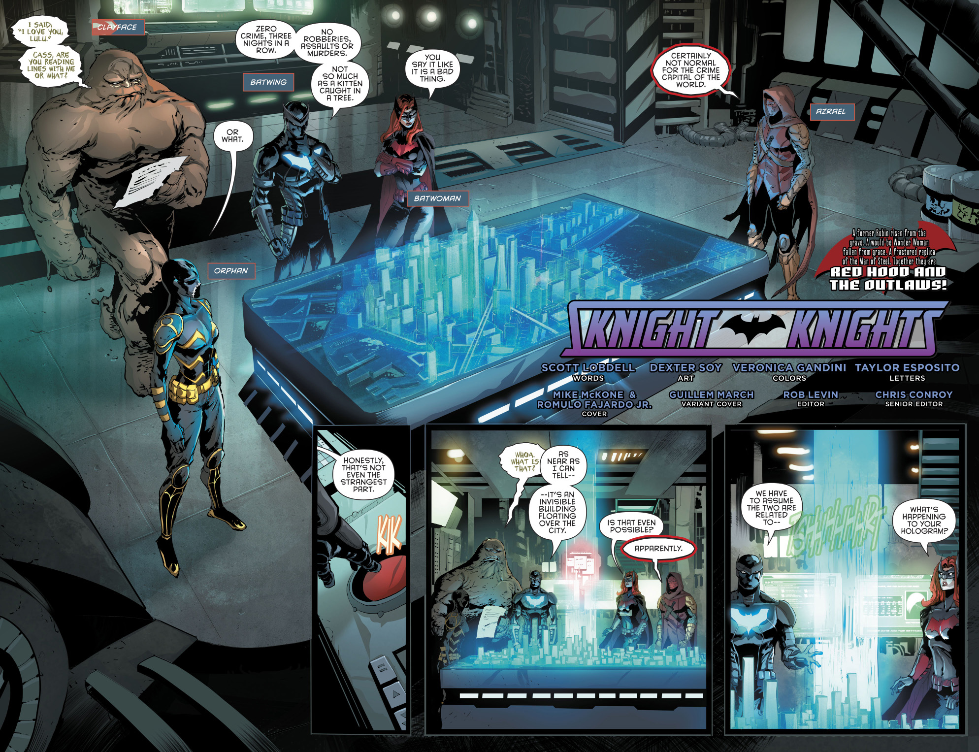 The Batman Family (Red Hood and the Outlaws Vol 2 #15)