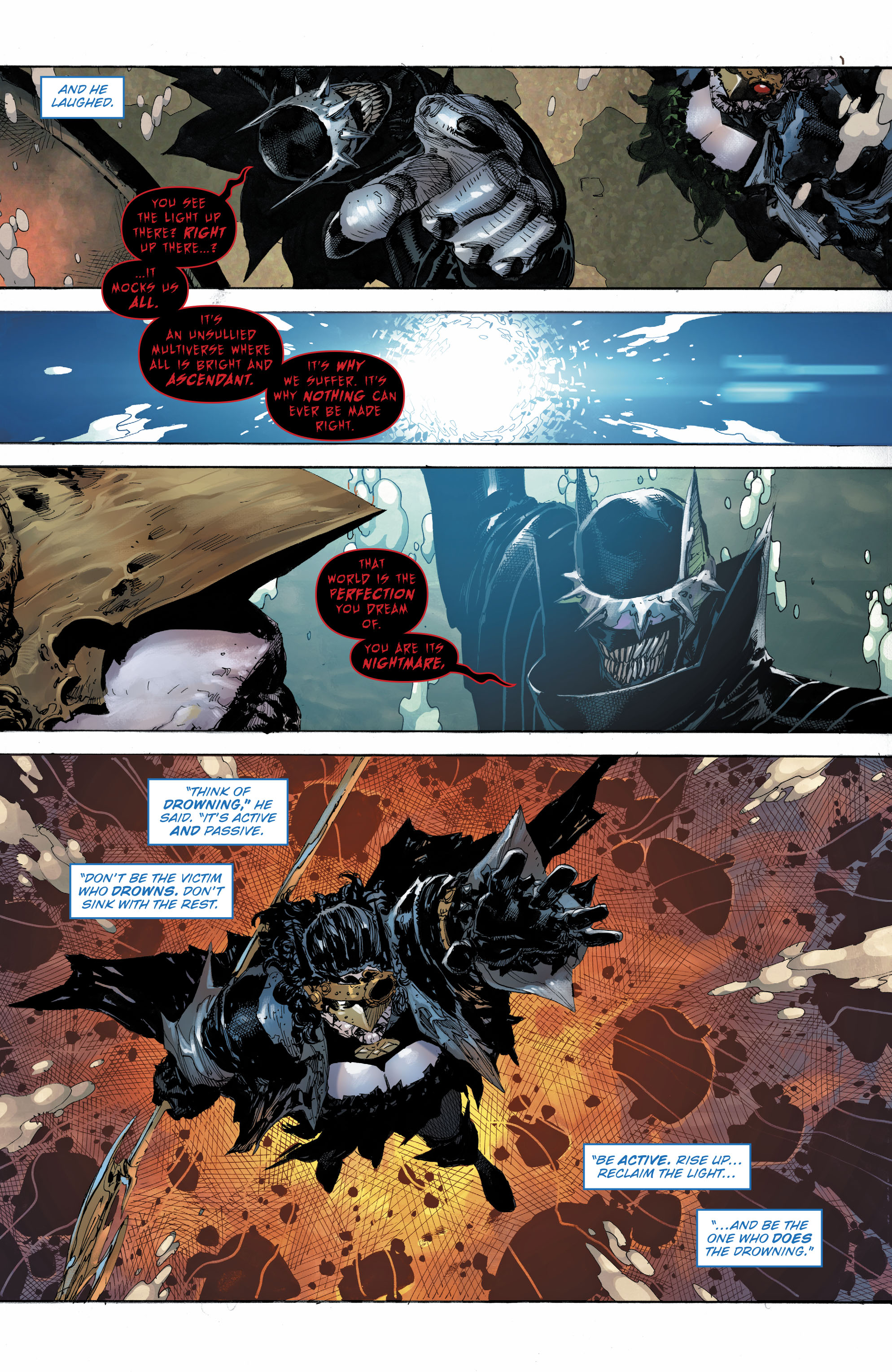 The Batman Who Laughs Recruits The Drowned