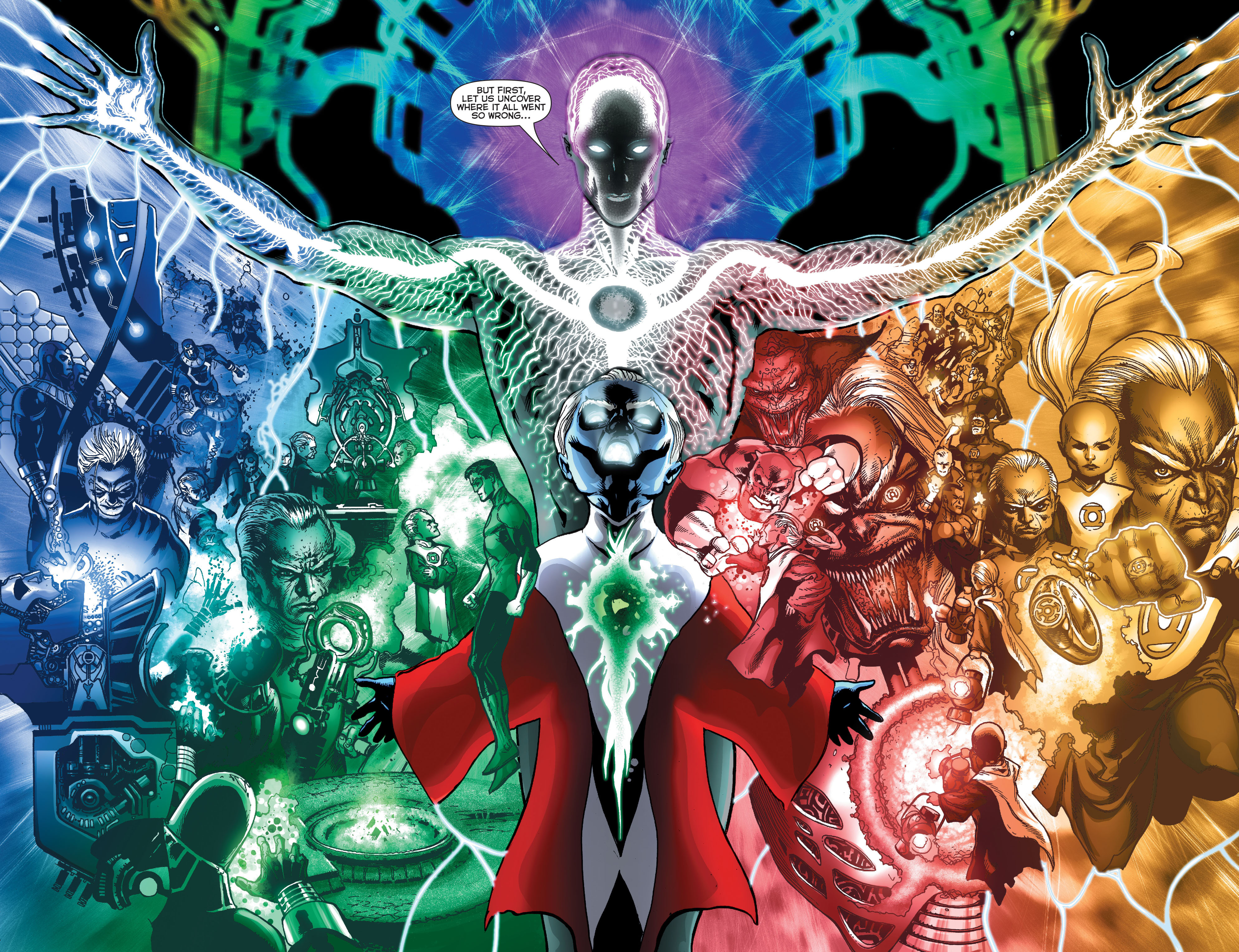 The First Lantern And Ganthet (Green Lantern Vol 5 #17)