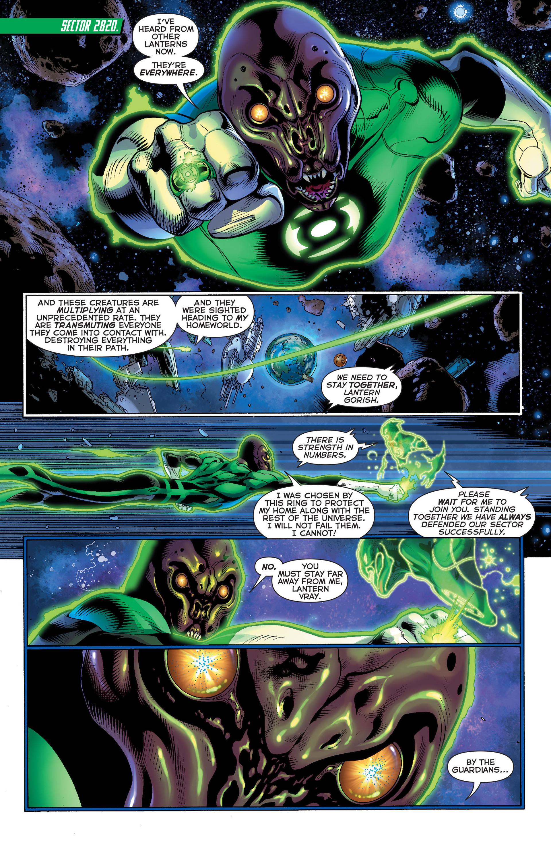 The Third Army (Green Lantern Vol 5 #15)
