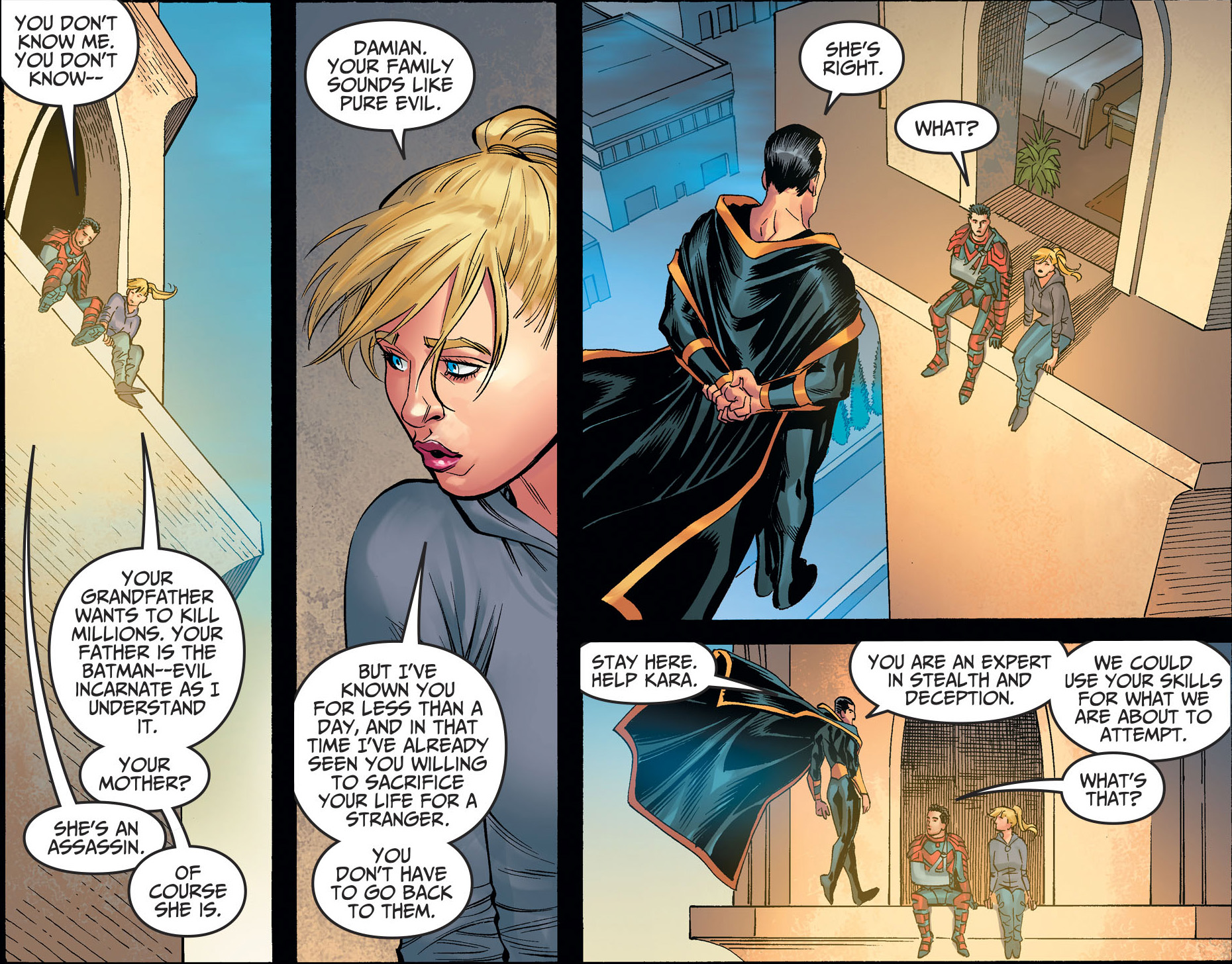 Why Black Adam Recruited Damian Wayne