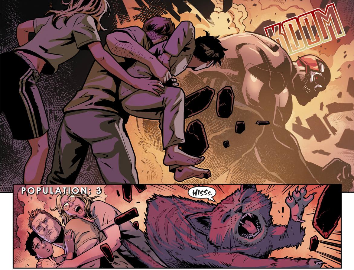 Amazo Massacres An Entire Town (Injustice II)
