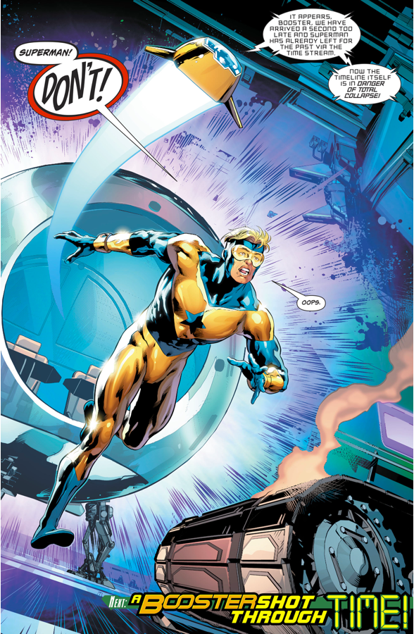 Booster Gold (Action Comics #992)