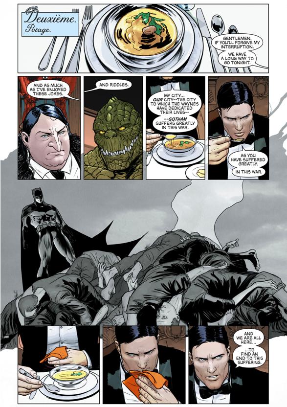 Bruce Wayne's Dinner With The Joker And The Riddler