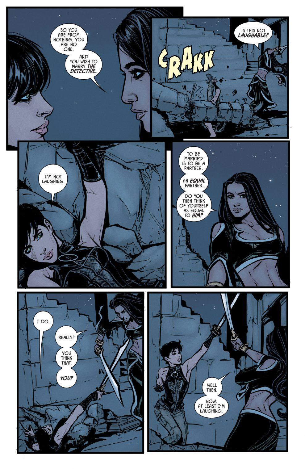 Catwoman VS Talia al Ghul (Rebirth)